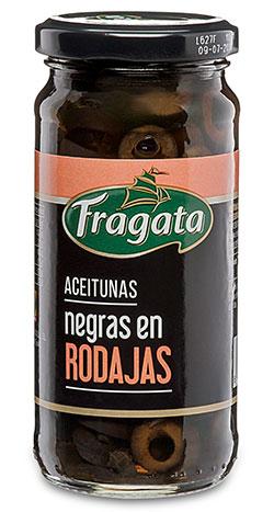 Aceitunas Negras en Rodajas