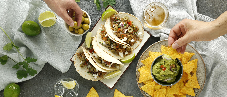 Taco estilo cochinita pibil, la perfecta fusión hispano-mexicana