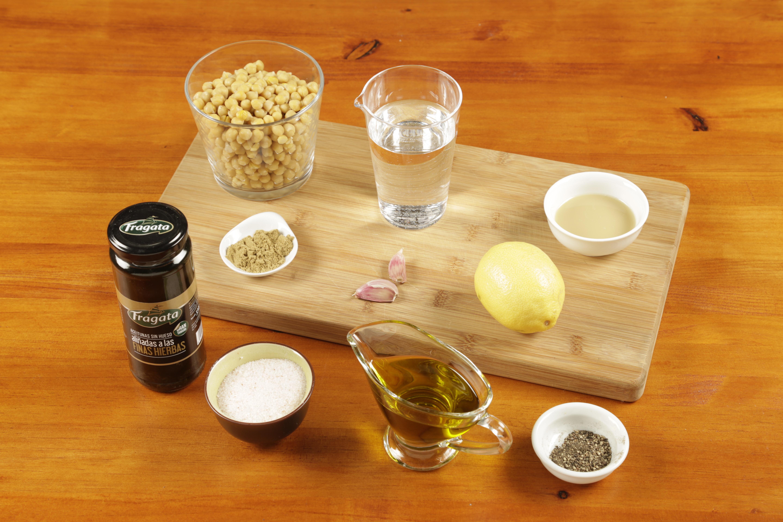 1. Preparar todos los ingredientes.