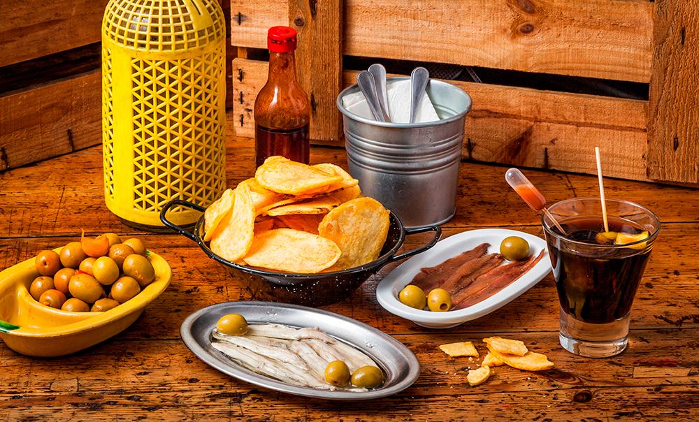 Los mejores aperitivos del mundo con Fragata