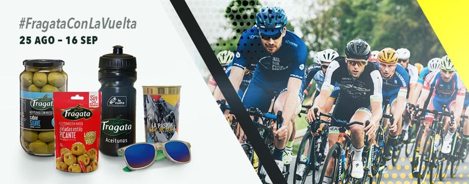 Gana productos Fragata en La Vuelta a España
