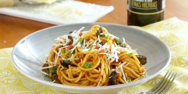 La pasta en la dieta mediterránea