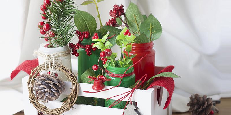 DIY Fragata centro floral