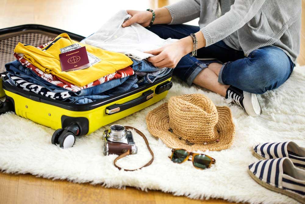Organiza un buen equipaje para tus vacaciones