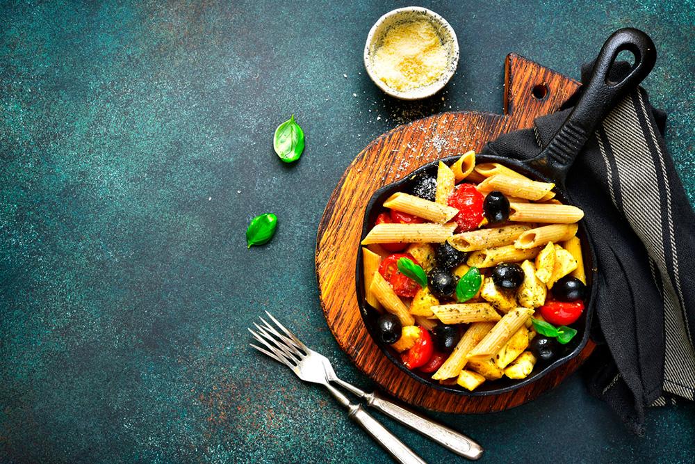 Las aceitunas y las dietas veganas