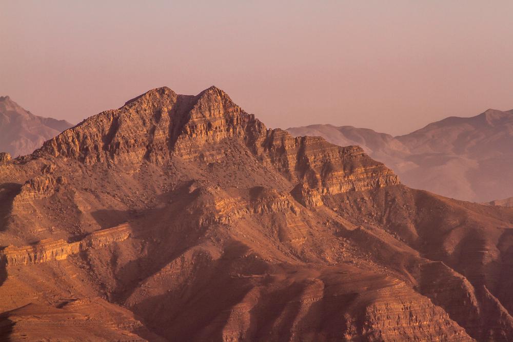 La tirolina más larga del mundo en Jebel Jais en Emiratos Árabes