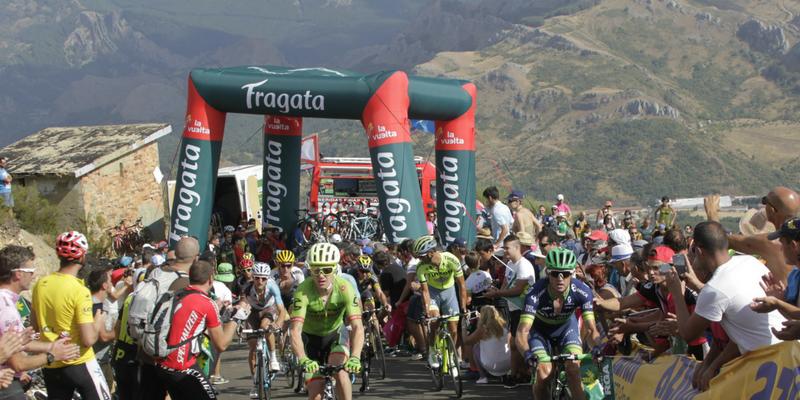 Aceitunas Fragata patrocina La Vuelta ciclista a España