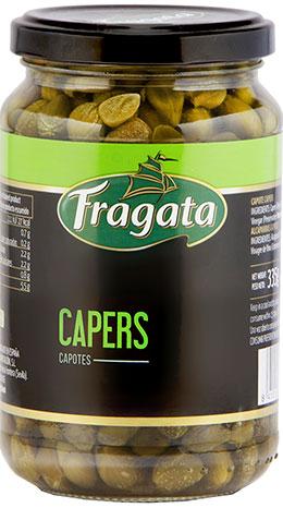 Capers Capotes in wine vinegar