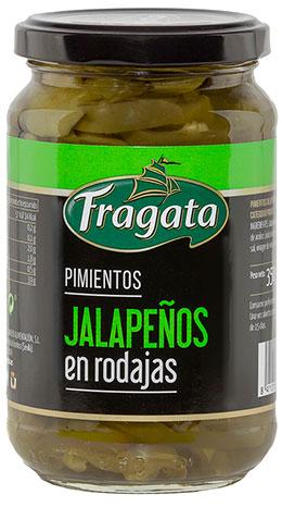 Pimientos Jalapeño en vinagre de vino - Fragata