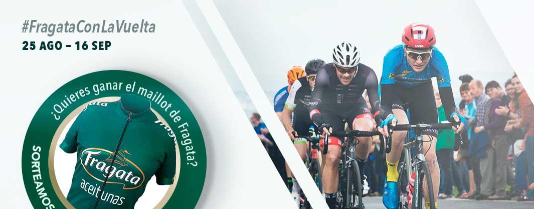 Aceitunas Fragata un año más patrocinador La Vuelta Ciclista a España