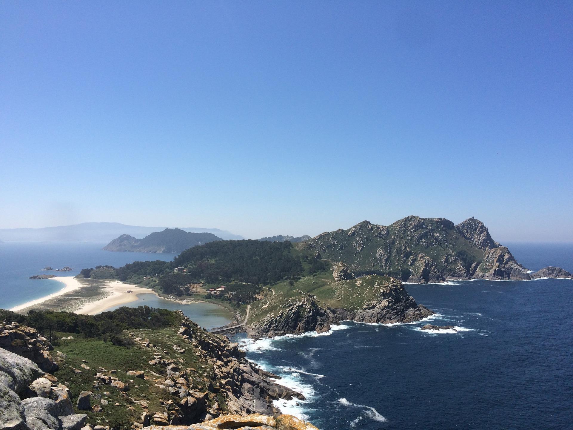 Vacaciones con aceitunas Fragata. Islas Cíes