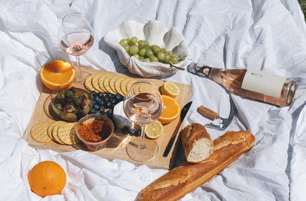 Picnic Fragata con aceitunas