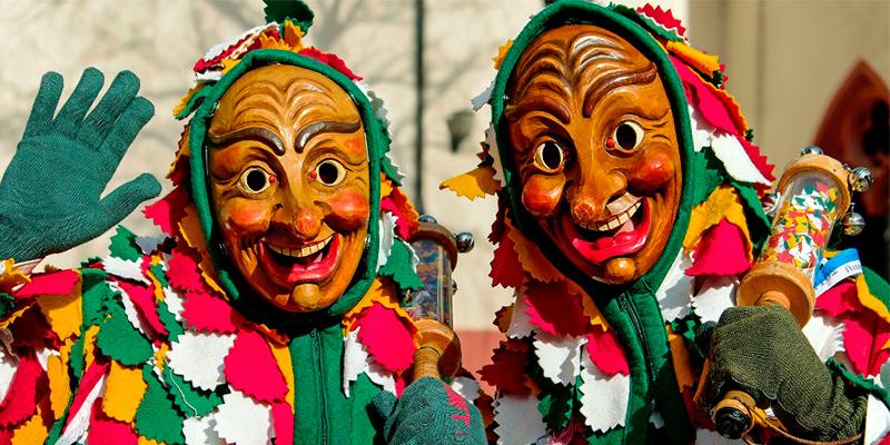 Tradiciones de carnaval por el mundo con Fragata
