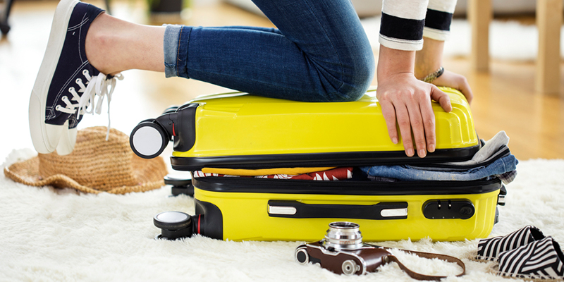 Organiza tu equipaje para unas súper vacaciones
