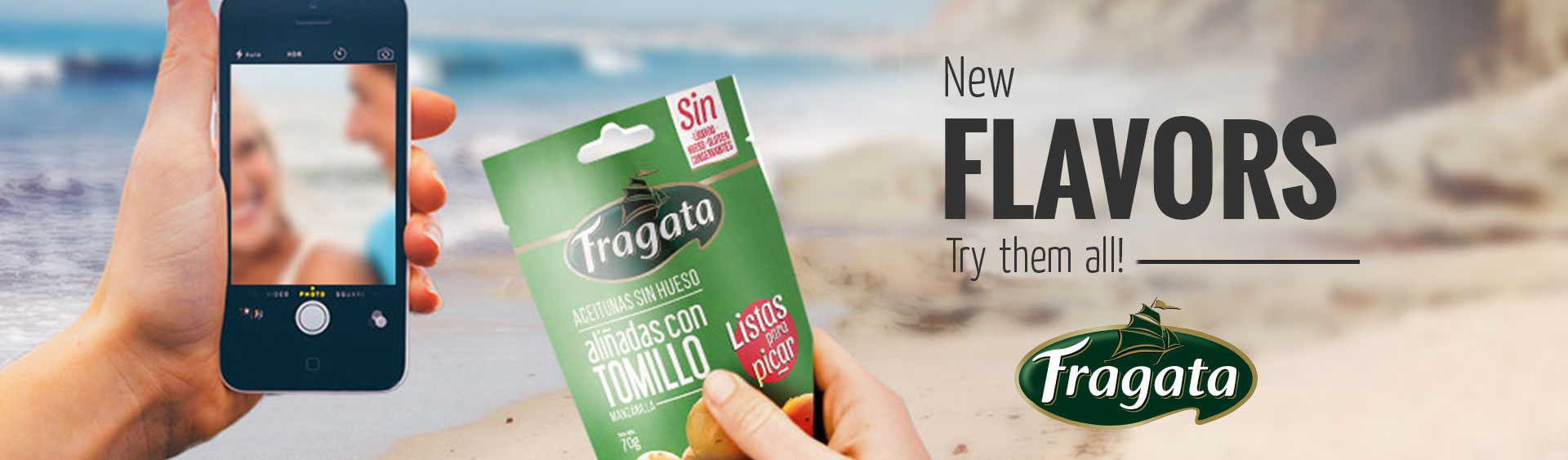 Snacking Fragata flavours
