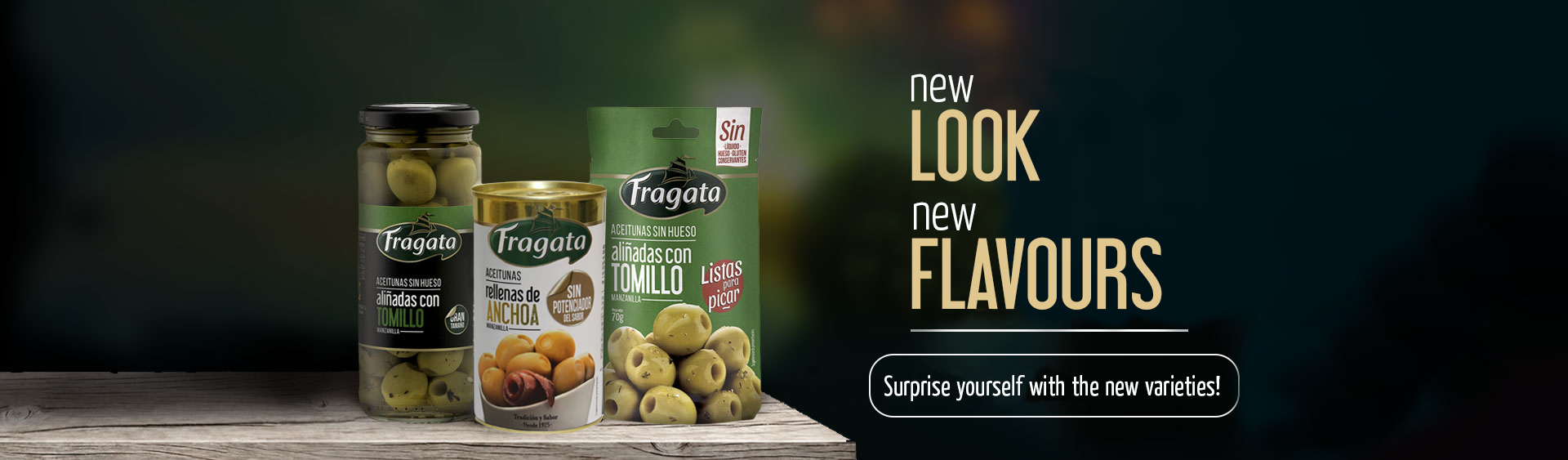 New look, New flavours