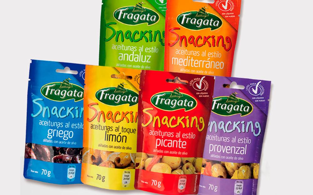 Aceitunas Fragata en cualquier parte