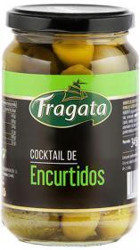Cocktail de encurtidos en salmuera